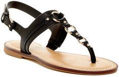 Aldo Sirang Reptile-Embossed Thong Sandal - $34.97