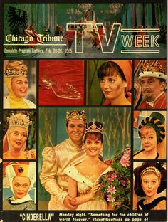 """Cinderella"" premiered in February, 1965 and was broadcast annually for several years after. My Childhood Memories, Childhood Toys, Sweet Memories, Cinderella Musical, Rodgers And Hammerstein's Cinderella, Vintage Television, Old Shows, Old Tv, Classic Tv"