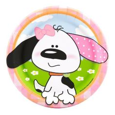 Playful Puppy Pink Dessert Plates Party Accessory by Party Destination, http://www.amazon.com/dp/B006RRCJQI/ref=cm_sw_r_pi_dp_PLicsb0A78CSH