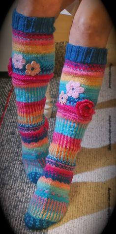 Ankortit: Jällen kukka sukkia