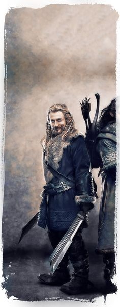 The Dwarves Of The Hobbit by Gianfranco Gallo, via Behance