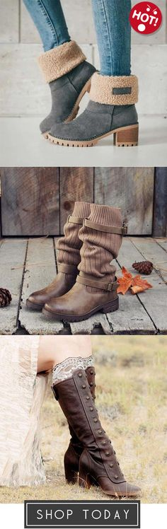 I want theses boots Cute Shoes, Me Too Shoes, Stilettos, High Heels, Fashion Shoes, Fashion Accessories, Snow Boots Women, Casual Boots, Winter Shoes