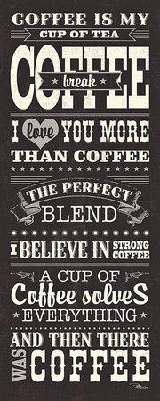 Coffee Lovers I Kunsttryk