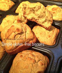 simple gluten free biscuits