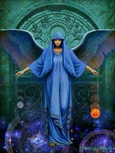 Haniel - the archangels of healing, moon magic and peace