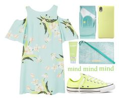 """""""Sem título #1075"""" by andreiasilva07 ❤ liked on Polyvore featuring MANGO, Sony, Estée Lauder, Marc by Marc Jacobs and Converse"""