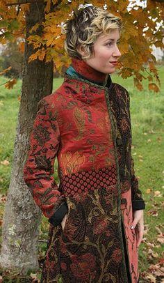 Farb-und Stilberatung mit www.farben-reich.com - Mary Lynn O'Shea: Designer | Weaver | Manchester Coat