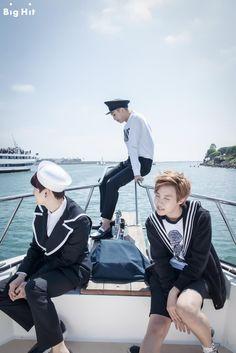 Bangtan Boys ❤ Yoongi (suga), Namjoon (rapmon) & Hoseok (jhope)