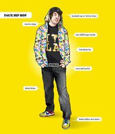 Ways to distinguish what u call hip hop fashion !! A no-no '!!