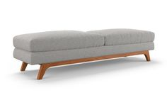 "Calhoun Bench by Joybird 72""w x 20""d x 18""H bench for the entrance"