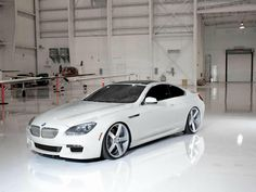 White BMW 6-Series