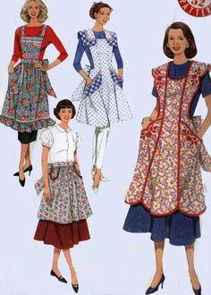 On pinterest apron patterns vintage apron and vintage apron pattern