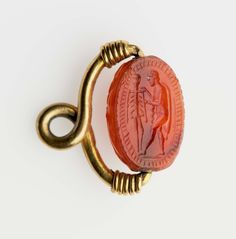 LEVIATANO — dwellerinthelibrary: A Roman pendant from about...