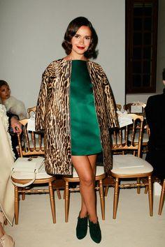 Miroslava Duma. Giambattista Valli | Spring 2014 Couture Collection | Style.com