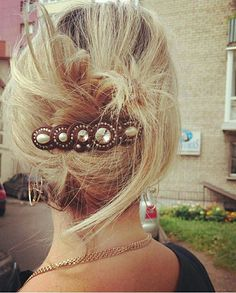 Hair Inspiration, Diy And Crafts, Jewelery, Hair Styles, Earrings, Beauty, Fashion, Hair Rods, Up Dos