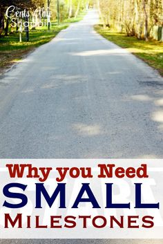 Why you Need Small Milestones