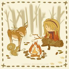 216 best around the campfire images on pinterest illustrations
