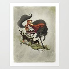 """""""Unto an evil counsellor, close heart and ear and eye..."""" Art Print by Dave E. Phillips - $15.00"""