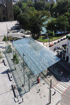 Place Flagey by Latz + Partner 08 © Serge Brison « Landscape Architecture Works | Landezine Landscape Architecture Works | Landezine