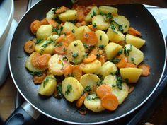 Pasta Salad, Meat, Ethnic Recipes, Food, Potato, Crab Pasta Salad, Essen, Meals, Yemek