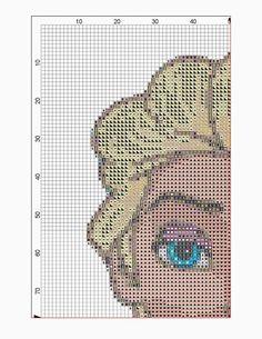 Elsa Free Cross Stitch Pattern - Crafty Guild