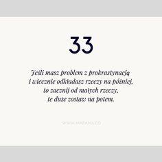 Co tydzień w czwartek znajdziesz jedną, inspirującą wskazówkę, która pomoże Ci odnaleźć więcej czasu i spełniać marzenia :) #tip #wiecejczasu #czas #produktywnosc #produktywność #time #marzenia #cele #wskazówka #timemanagement #marzplanujspelniaj #getshitdone #gettingthingsdone #madama #madamaco #planowanie #organizacja Time Management, Cos, Bullet Journal, Motivation, Instagram Posts, Quotes, Quotations, Quote, Shut Up Quotes