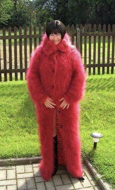 Fur Coat, Pullover, Jackets, Fashion, Wool, Breien, Down Jackets, Moda, Fashion Styles