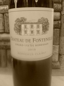 2010 Chateau De Fontenille | Grand vin De Bordeaux | Bordeaux Clairet http://usa.planet-bordeaux.com/bordeaux-in-the-u-s-a/chateau-profiles/chateau-de-fontenille/