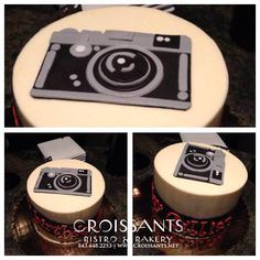 Camera Cake! Photographer birthday