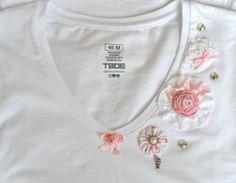 Для семьи, для друзей, для Вас: Преображение белой футболки