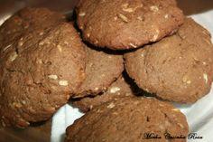 Minha Casinha Rosa: Cookies de chocolate com cereais