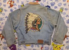 New Embroidery Denim Jacket Ralph Lauren Ideas Moda Vintage, Vintage Men, Vintage Fashion, Denim Jacket Men, Denim Fashion, Polo Ralph Lauren, Dresses With Sleeves, Clothes, Indian Head