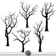 Silhouette Clip tree - Google Search