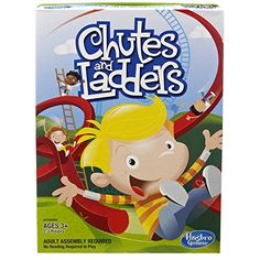 Kids Classic Chutes & Ladders - Classic Chutes and Ladders game challenges you to scramble to the top of the game board without slip-sliding down Land on good deeds to climb ladders Watch out for the slide