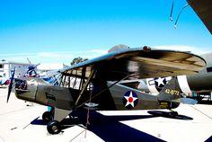 N35786  1941 Piper J5A C/N 5-772 U.S. Army Model L4F
