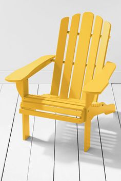 Adirondack Chair: I would love this on my front porch.