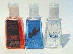 Spn inspired hand sanitizer