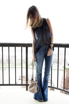 Love this outfit even though I don't wear jeans.  From one of my favorite blogs: The Man Repeller.