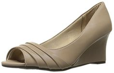Just got these for a wedding in July. LifeStride Women's React Wedge Pump, Stone, 9.5 W US Life... https://www.amazon.com/dp/B01CA2TAQK/ref=cm_sw_r_pi_dp_x_IW8izbJY8YK1R