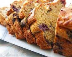 Blueberry-Banana Bread - 4 Points +