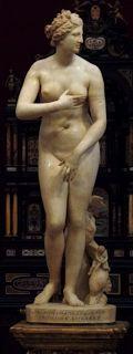 LA VENERE DEI MEDICI-UFFIZI FIRENZE, marmo, 153cm, copia romana di una statua greca del IV-III sec. a.C. di Cleomene di Apollodoro.
