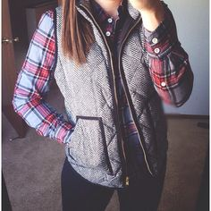 vests are a fall staple