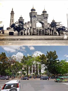 MANILA CARNIVALS or  NATIONAL LIBRARY of the PHILIPPINES  The Carnival original organizer was an American colonel named Captain George T. Langhorne  BEFORE AND AFTER  Location: Kalaw Ave. Ermita, Manila Philippines Wayback 1908 to 1939 Philippine Holidays, Filipiniana, Mindanao, Manila Philippines, Carnivals, Historical Architecture, Colonel, Aesthetic Art, Old Photos