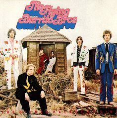 Manuel Designs - The Flying Burrito Brothers on the cover of their 1969 debut LP, The Gilded Palace of Sin