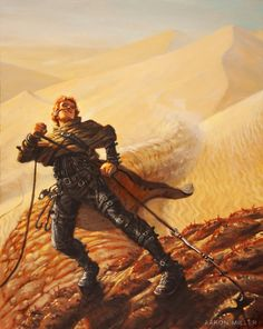 Dune Concept Art and Illustrations I artist unknown