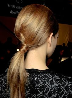 weekend hair: THE '60's PONYTAIL