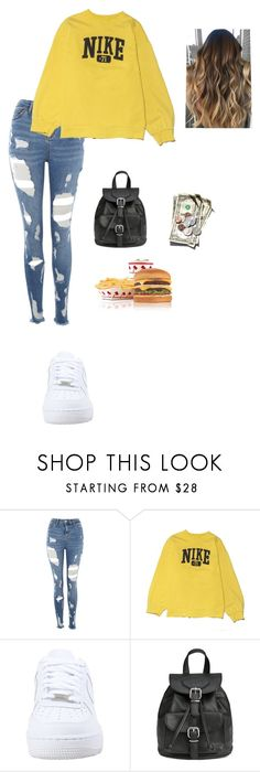 """Untitled #481"" by ericanunes on Polyvore featuring Topshop, NIKE and H&M"