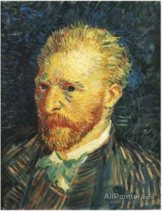 Vincent Van Gogh - Post Impressionism - Self-Portrait - Autumn 1887 - Autoportrait Van Gogh Portraits, Van Gogh Self Portrait, Van Gogh Museum, Art Museum, Art Van, Rembrandt, Vincent Van Gogh Pinturas, Van Gogh Arte, Van Gogh Paintings
