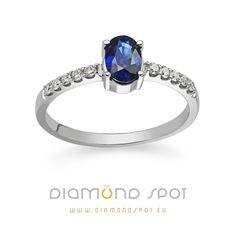 Safiri - Nakit sa safirima i dijamantima - Zlatara Diamond Spot, Beograd Sapphire, Rings, Jewelry, Fashion, Diamond, Moda, Jewlery, Jewerly, Fashion Styles