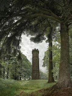 To Be Irreplaceable One Must Always Be Different., ghostlywatcher:   Keiths Tower, Aberdeenshire,...
